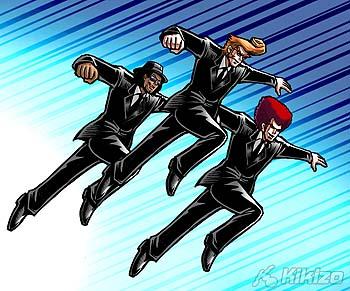 Yes! Men fly..