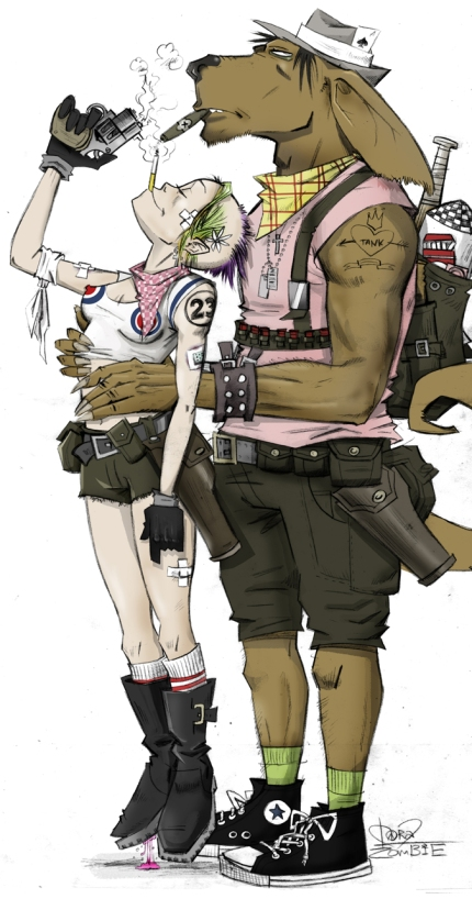 Booga+Tank Girl